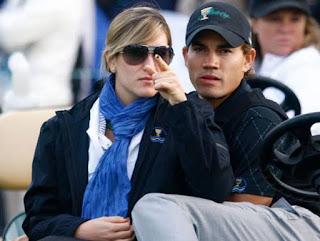 The Villegas Couple Enjoying Good Game Of Golf