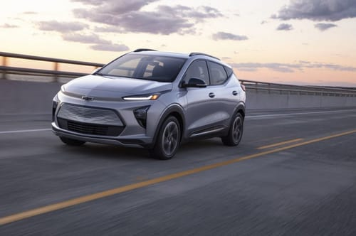 General Motors launches an electrified Chevrolet Bolt