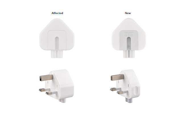 Apple Three-Prong AC Wall Plug Adapter Recall Program