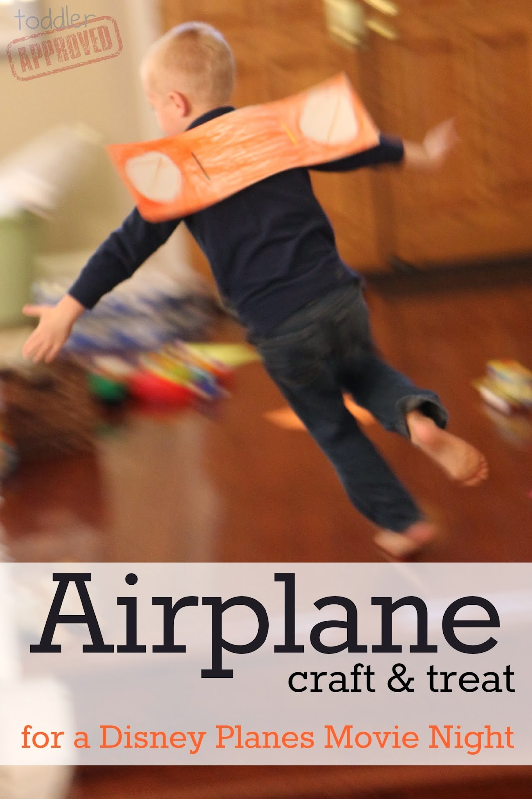 Toddler Approved Airplane Craft Amp Treat For A Disney