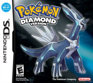 Pokemon Diamond Version Cover