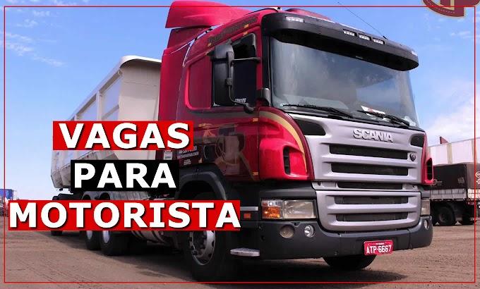 Trans Panorama abre vaga para Motorista Caçamba