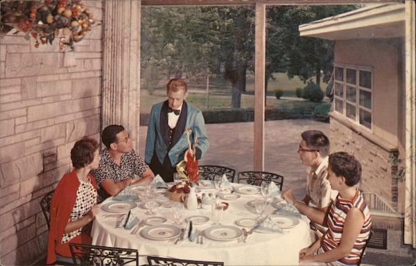 Nevele Grande - Dining Postcard