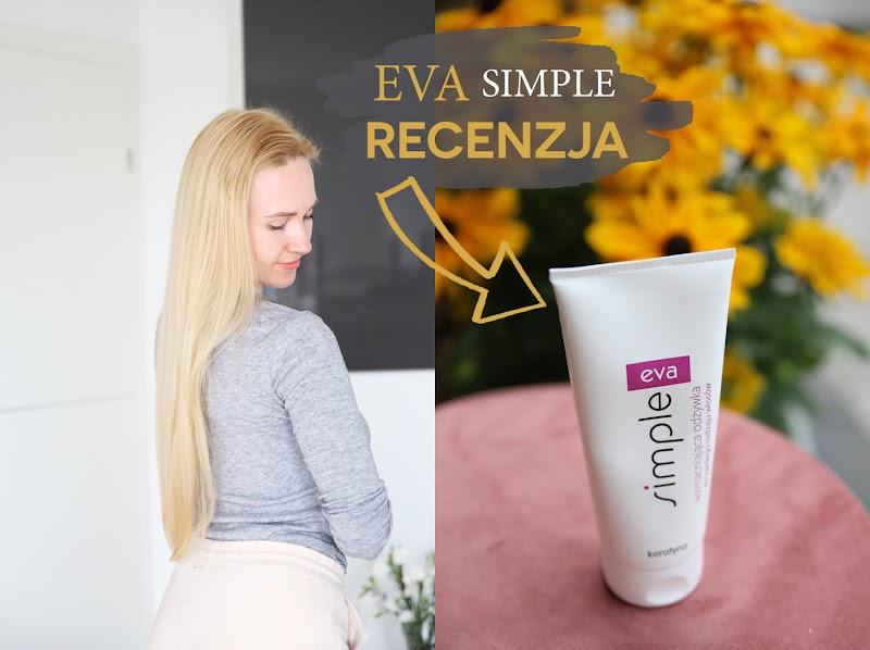 Eva Simple Keratyna - tania i świetna odżywka do włosów - czytaj dalej »