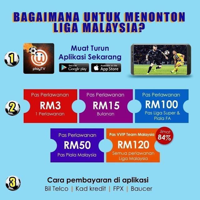Cara Tonton Live Liga Malaysia 2020 di Unifi TV