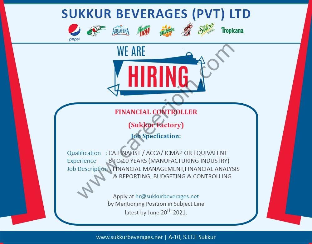 hr@sukkurbeverages.net - Sukkur Beverages Pvt Ltd Jobs 2021 in Pakistan