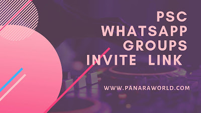 PSC Whatsapp Groups Invite Link