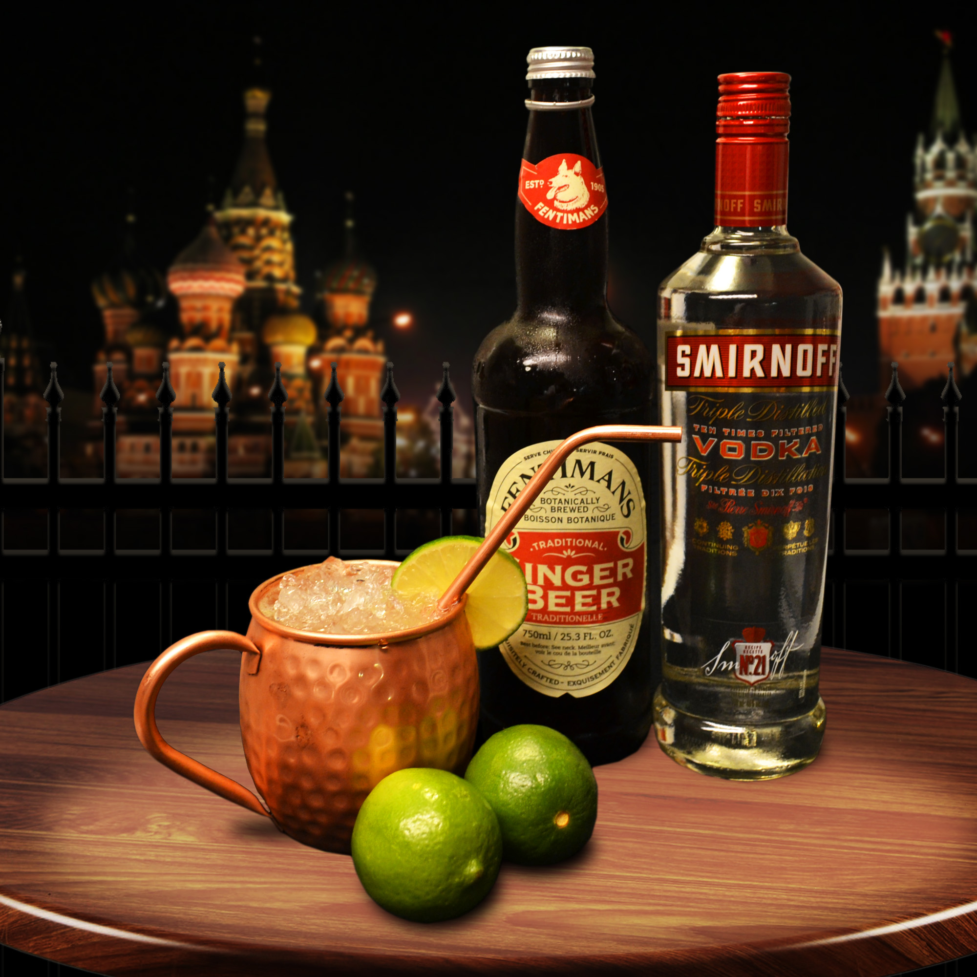 The Moscow Mule may have nothing to do with Russia - but it is damn tasty
