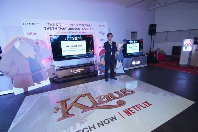 LG Philippines partners with Netflix to help ACPI and Shelter of Hope this Christmas
