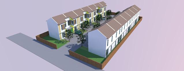 site plan perumahan autocad