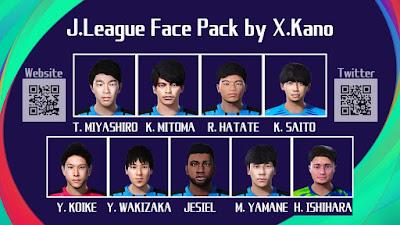 PES 2021 Facepack J League by X.Kano
