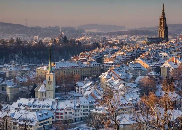 11 beautiful European travel paradises for the Christmas season