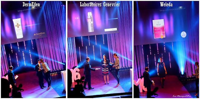 Lauréat Les Victoires de la Beauté 2015/2016 : DermEden - Laboratoires Genevrier - Weleda - Les Mousquetettes©