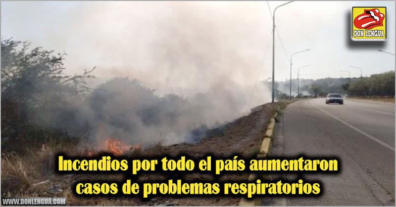 Incendios por todo el país aumentaron casos de problemas respiratorios