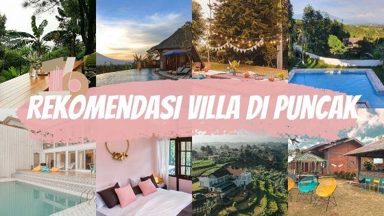 rekomendasi villa airbnb di puncak