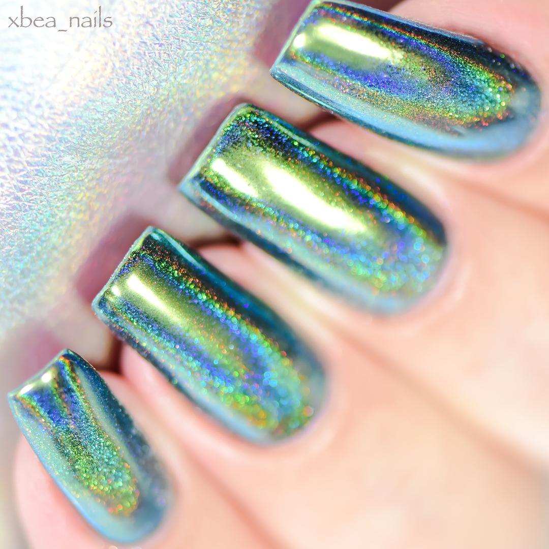 Acrylic Nail Powder Holographic: Born Pretty Store Blog: Holographic Acrylic Nails