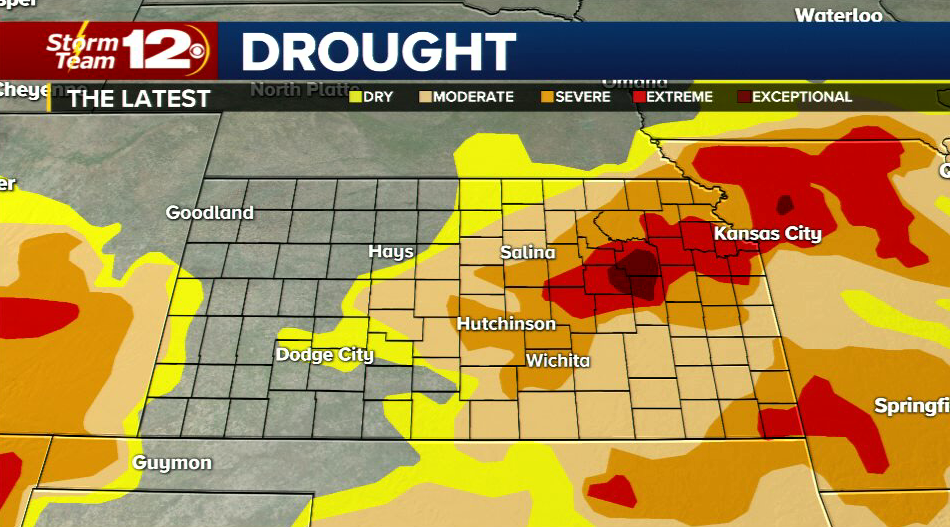 Ross & Millie\'s Blog: Drought update - flooding possible tonight