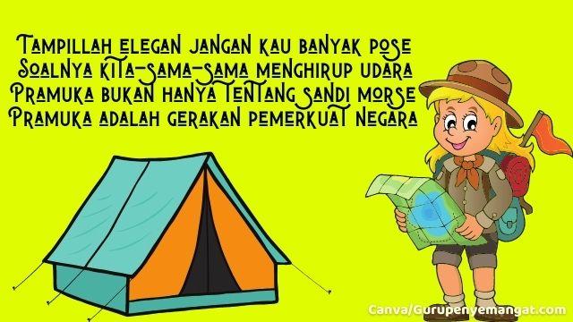 Pantun Pramuka Indonesia Bertema Berbakti Tanpa Henti