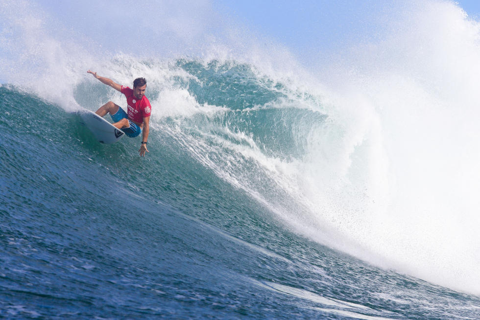 20 Aritz Aranburu ESP 2015 Vans World Cup Fotos WSL Laurent Masurel