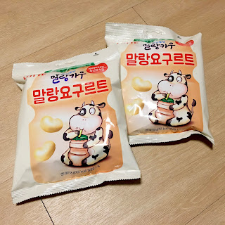 lotte cow candy yakult