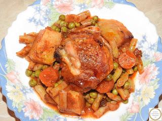 Ghiveci de legume cu carne de pui reteta,