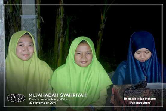 Protokol Saudari Ustadzah Indah Maharoh
