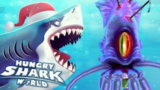 تحميل لعبة Hungry Shark World مهكرة للاندرويد - اخر اصدار