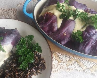 Duck Red Cabbage Rolls