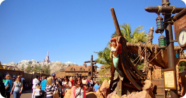 Magic Kingdom Park / Pequena Sereia na New Fantasyland