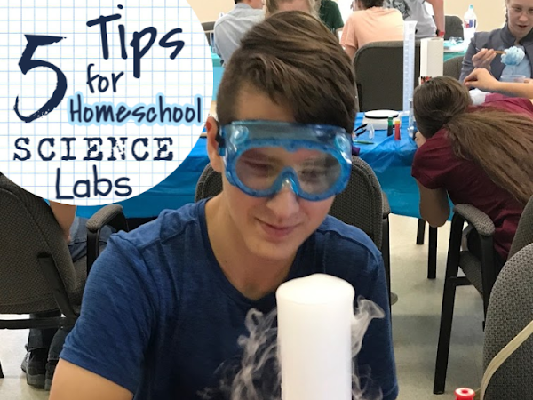 5 Tips For Homeschool Science Labs