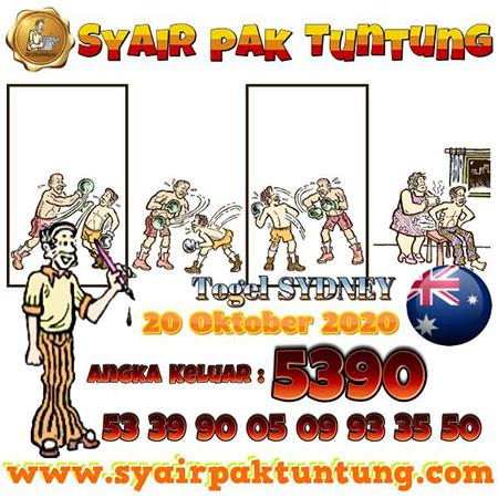 Prediksi Togel Pak Tuntung Sidney Selasa 20 Oktober 2020
