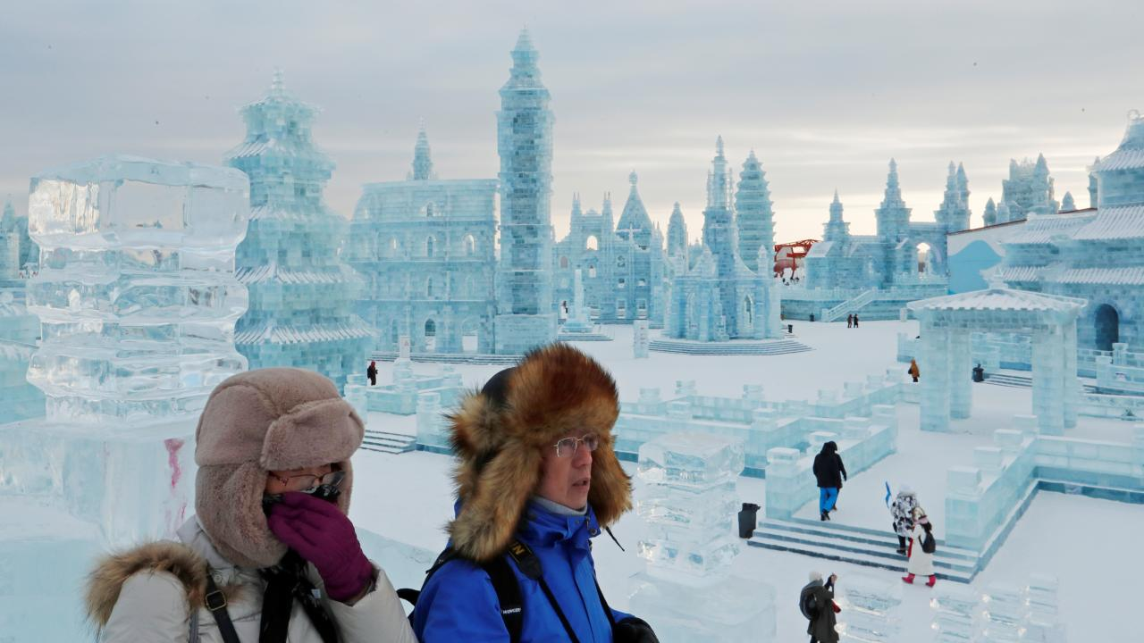 The International Ice and Snow Sculpture Festival Harbin, China