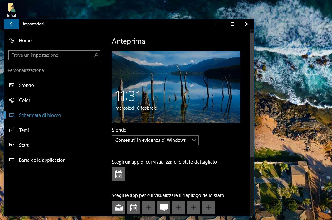 Immagine Spotlight fissa Schermata di blocco Windows 10 | Soluzione HTNovo