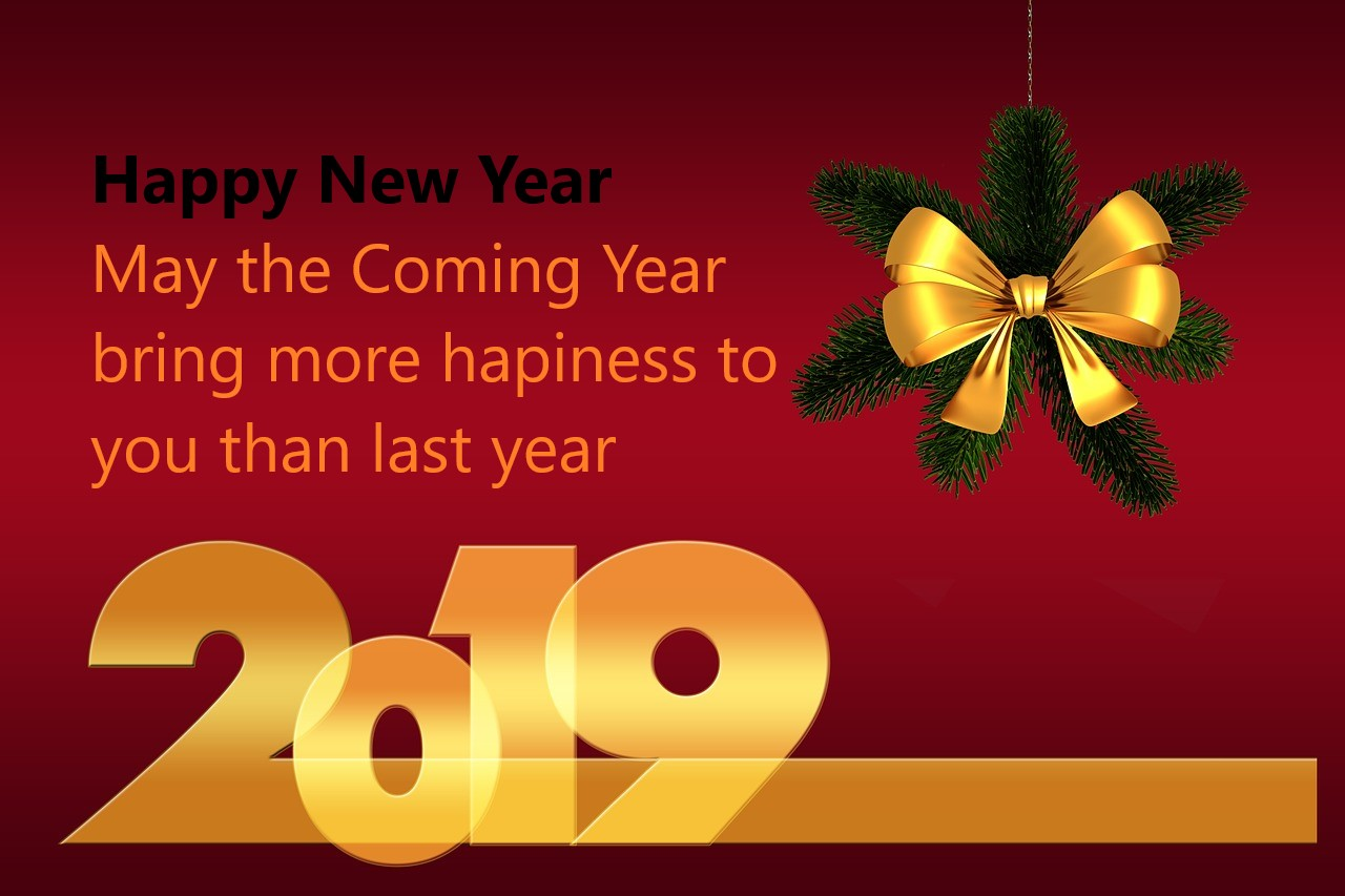 Happy New Year 2019 Best Quotes Hawk Ideas