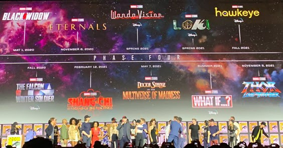 Florence Pugh H >> SDCC 2019: Marvel Studios Announces Phase 4 Logos and