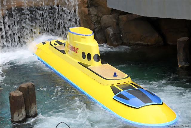 Submarine, Disneyland, California.