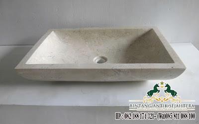 Jual Wastafel Marmer Kotak, Penjual Wastafel Batu Alam, Wastafel, Wastafel Marmer Kotak