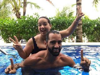 Adamari Lopez en sus vacaciones