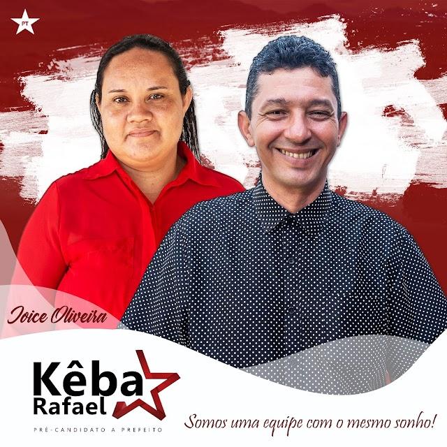 PT divulga fotos e nomes da equipe que disputará as eleições pelo partido em Senador Sá