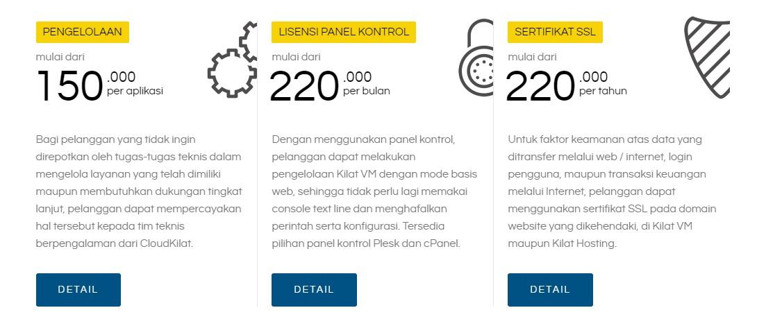Layanan CloudKilat Hosting Provider