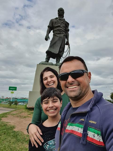 Monumento ao Laçador em Porto Alegre
