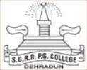 SGRR PG College Dehradun, Vacancies