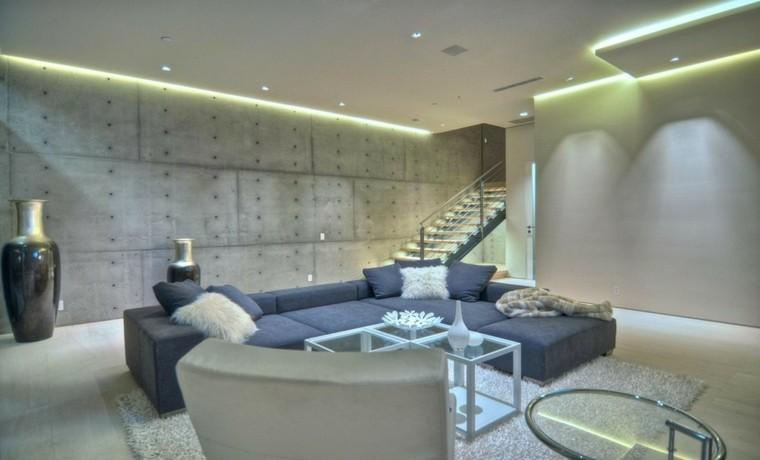 presentamos nuestra recopilacin de ideas para colocar en casa una iluminacion indirecta led salon lo que est claro es que este tipo de luces son todo