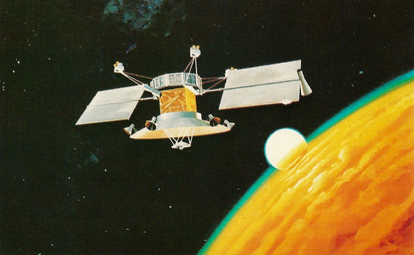 images from magellan spacecraft - photo #19