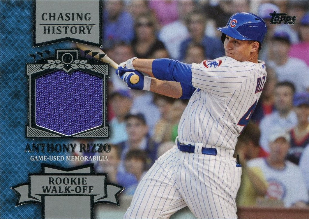 Once A Cub 2013 Anthony Rizzo Chasing History