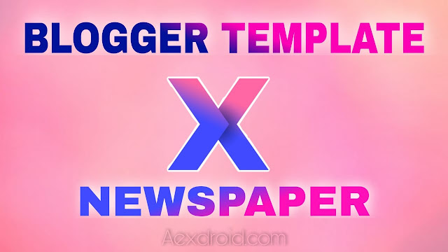 Blogger Newspaper Premium Template Download
