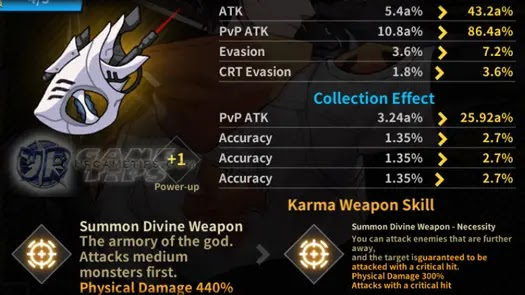 Lucid Adventure: Idle RPG - Tempest Karma Weapon 1