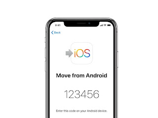 transfer data from android to iphone 11 pro