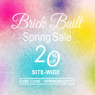 BRICK BUILT FIRST SALE OF 2017! www.brickbuilt.com