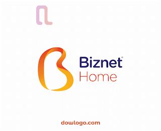 Logo Biznet Home Vector Format CDR, PNG